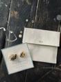 Vlas Blomme 天然石×真鍮のPetite Petal Pins(ピンズセット)