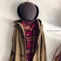 完売*ラムウール×カシミヤの bell hat mature-ha.