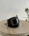 再入荷*ICHI Antiquites  Cow Leather Belt