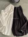 ICHI Antiquites  KHADI COTTONのピンタックシャツ