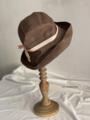 ラスト1点*mature-ha. 11cm brimのBOXED HAT