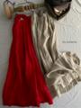 ICHI Antiquites ウォッシャーリネンのギャザースカート