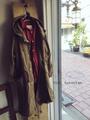 完売*ICHI Antiquites リネンコットン 天然染料のモッズコート