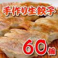 手作り 生餃子60個【地域限定送料無料】