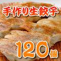 手作り 生餃子120個【地域限定送料無料】