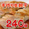 手作り 生餃子240個【地域限定送料無料】