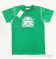 フィアット500 ジュニア・キッズTシャツ(グリーン)