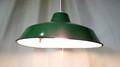 ホーロー制のペンダント照明【グリーン/大】 (0927308100)