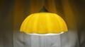 花型の蛍光灯照明【黄色】 (1022302140)