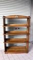 木製の本棚【5段/クサビ式】 (1125101200)