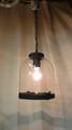 古い喫茶店のガラス製照明 (102230460)