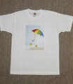 男女共用Tシャツ・Mサイズ 「お散歩」