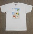 レディースTシャツ・Mサイズ 「Sea」