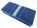 スティングレー・エイ革の長財布★青色★二折★連石