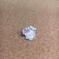 レース編みの小花ブローチ06