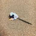 レース編みの小花ヘアピン04