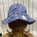 鳳凰柄 たためる帽子