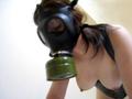 イスラエル軍 フィルタ付きガスマスク /STD14224 /自縛・自虐・セルフボンデージ