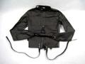 拘束衣・拘束服・ストレイトジャケット ブラック (腰丈) /YLX5315911
