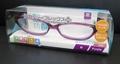 【感染防止の保護眼鏡として】花粉防止メガネ スカッシーフレックスプラス Mサイズ パープル