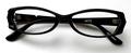 【「仮面ライダー電王」で使用したメガネが復活!!】No NAME 4673 ブラック/クリアー