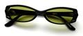 【「仮面ライダー電王」で使用したメガネのサングラスバージョン】No NAME 4673 ブラック×TALEX イーズグリーン ノンコート