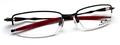 【リーズナブルでシンプルなデザインと構造】OAKLEY COVERDRIVE OX3129-0753 Polished Black/Red