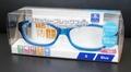 【感染防止の保護眼鏡として】花粉防止メガネ スカッシーフレックスプラス Sサイズ ブルー
