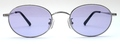 【期間限定セール企画・クラシック&インテリジェンスなオーバルサングラス】BLESS ORIGINAL Classic Eight-SUN Lens Color:Purple