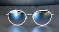 【ハーフミラーレンズで季節感溢れるサングラス】 GLCO(ジーエルシーオー) PALOMA MW-SV/GM