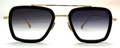 【人気のFLIGHT シリーズ】DITA FLIGHT.006 MATTE BLACK - 14K GOLD W/ DARK GREY TO CLEAR - AR