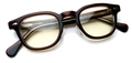 【シークレットウィンドウでジョニー・デップも愛用の1950年代アーネル】TART OPTICAL ARNEL JD-04 004(Brown clear)