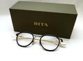 【ミニマムでシンプルな究極の優美さを具現化】DITA SCHEMA-TWO DTX131-49-02  BLK-GLD