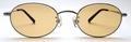 【期間限定セール企画・クラシック&インテリジェンスなオーバルサングラス】BLESS ORIGINAL Classic Eight-SUN Lens Color:Orange Brown