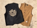 B.S.M.G. WOOL RANCH VEST
