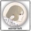 mirror-left 手鏡(CRM0023)