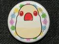 缶バッジ10花クリーム(FTO0018)