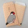 ぽち袋(ほんのきもち・桜文鳥)