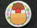 缶バッジ9花シナモン(FTO0017)