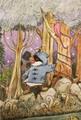 ポストカード「森の中」