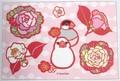 ポストカード「正月花」(SAT0032)