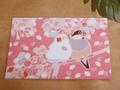 ポストカード「桜吹雪」(SAT0016)