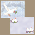 Blueberry&Javasparrowミニ便箋(TTP0035)