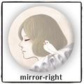 mirror-right 手鏡(CRM0024)