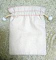 巾着(桜と白)(PIK0008)