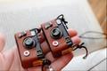 クラシックカメラ(赤ポッチ)ネックレス