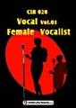 """CLR020-Vocal Vol.01""""Female Vocalist""""【著作権フリー音楽/BGM】"""