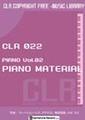 CLR022 Piano Vol.02 ナレーション用ピアノ素材集「PIANO MATERIAL」【著作権フリー音楽/BGM】