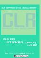 CLR008-Sticker(ジングル集) Vol.02(オーケストラ編)【著作権フリー音楽/BGM素材集】