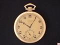 AV-7 ユリスナルダン K18YG薄型ケース懐中時計
